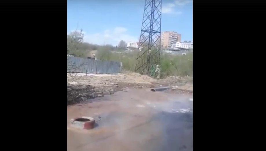 Две ремонтные бригады устраняют коммунальную аварию в Советском районе - фото 1